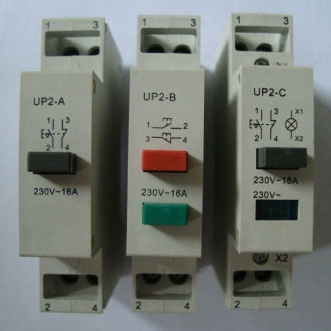 Push Button Machine Switch Start Stop Indicator Light Control Box 230V 230 Volt