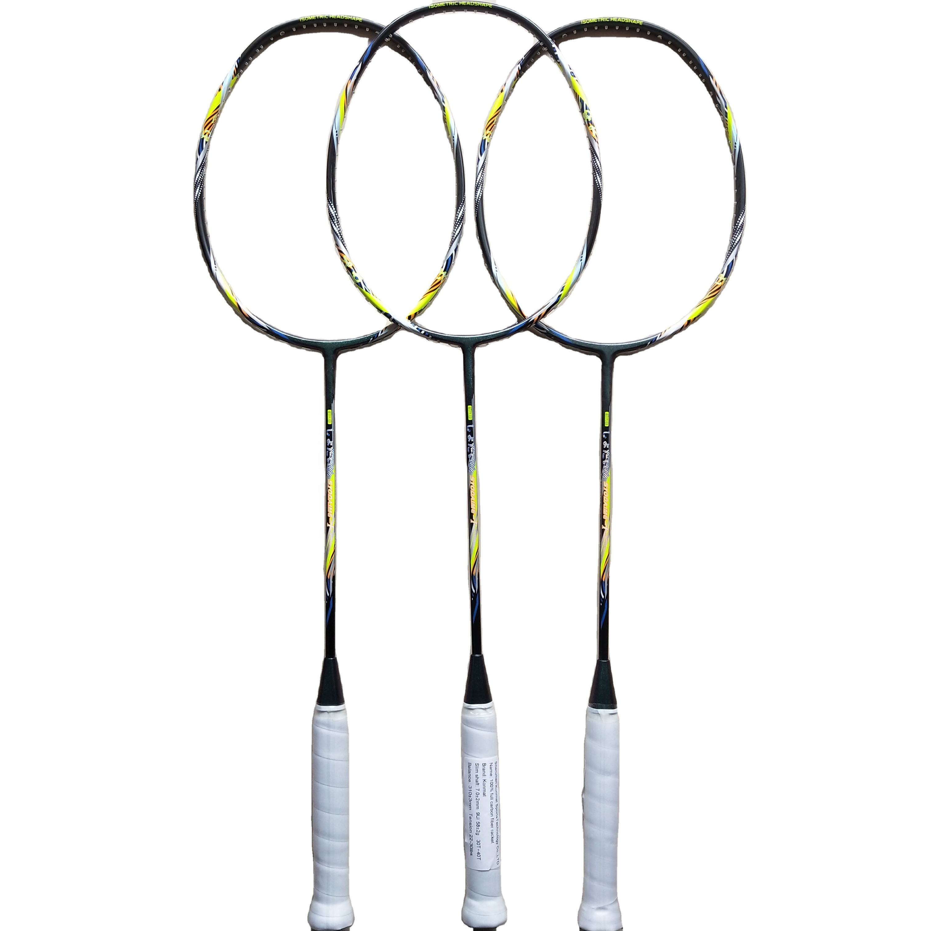 9u <span class=keywords><strong>Badminton</strong></span> Rackets 30 Lbs Spanning Graphite-Fiber 58G <span class=keywords><strong>Badminton</strong></span> <span class=keywords><strong>Racket</strong></span> Zonder Snaren
