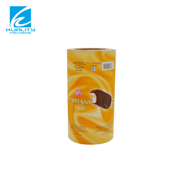 Plastic ldpe film roll for ice cream packaging