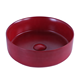 Hot new products cheap price Matt Color bathroom sink ceramic art wash basin