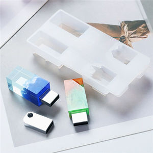 Jewelry Resin Epoxy Molds silicone usb resin mold for resin craft diy