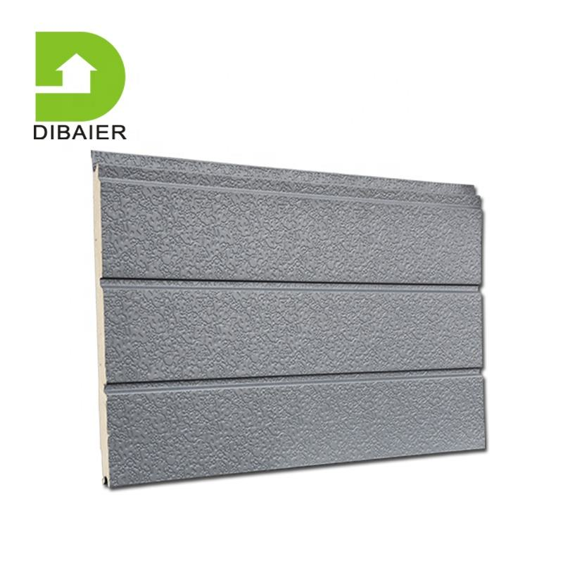 Decorative wall siding panel/PU sandwich panel/16mm Exterior wall insulation board for prefabricated house