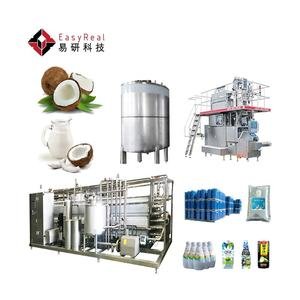 Automatic Semi-automatic Coconut Milk Coconut Water Making Machine Processing Production Line Plant Price