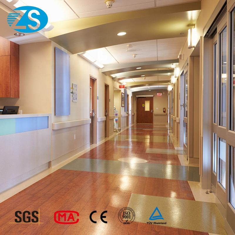 Spot medical corridor against the wall anti-collision handrail hospital safety pvc aisle handrail