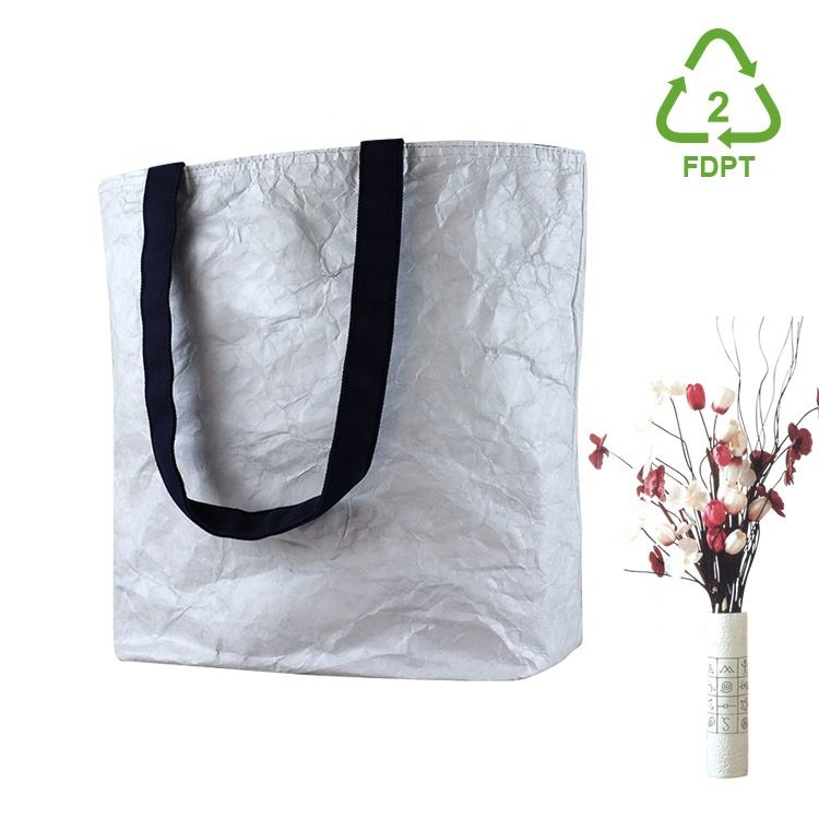ISO BSCI factory eco-friendly durable light strong tote bag and water-resist dupont tyvek bag gift reusable shopping bag