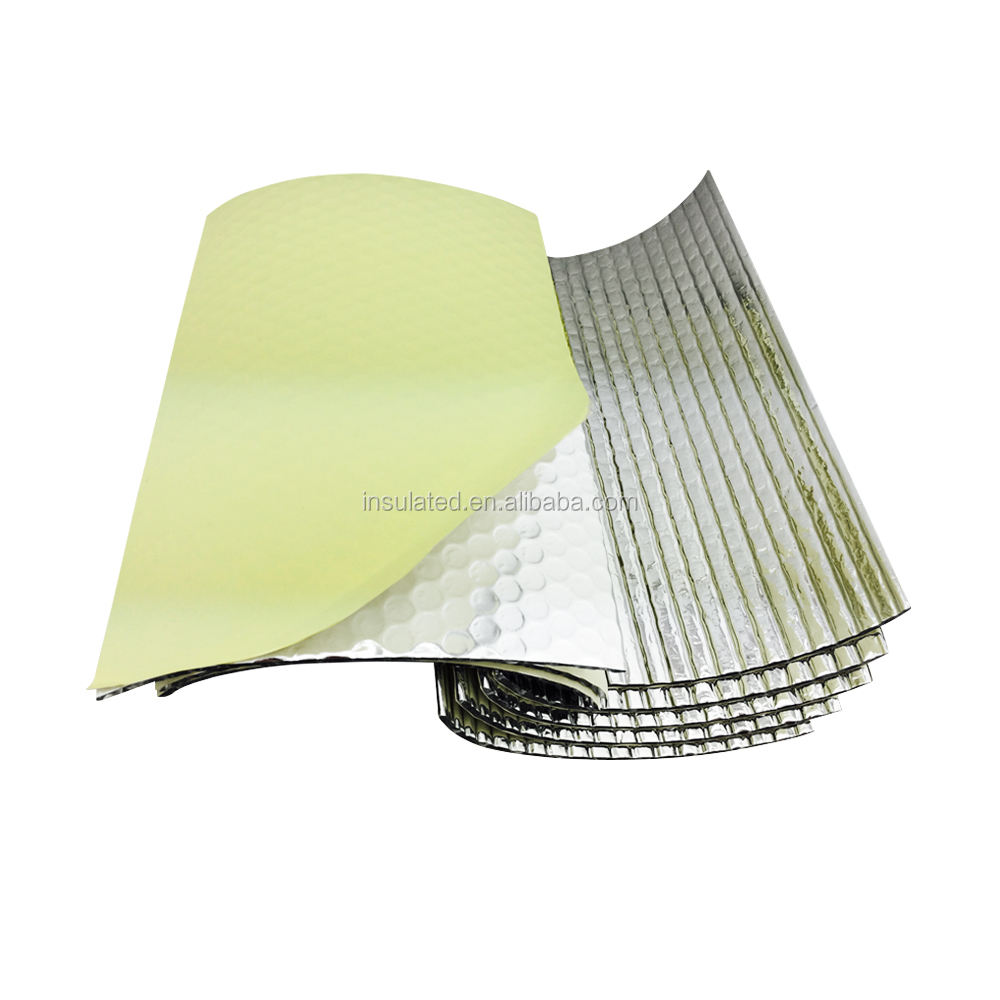 foil bubble insulation foam sealant aluminum foil house doors and windows waterproof isolation thermo insulation material
