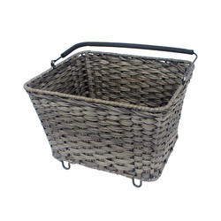 Bike basket rear stacking plastic storage fruit laundry stackable baskets in bulk