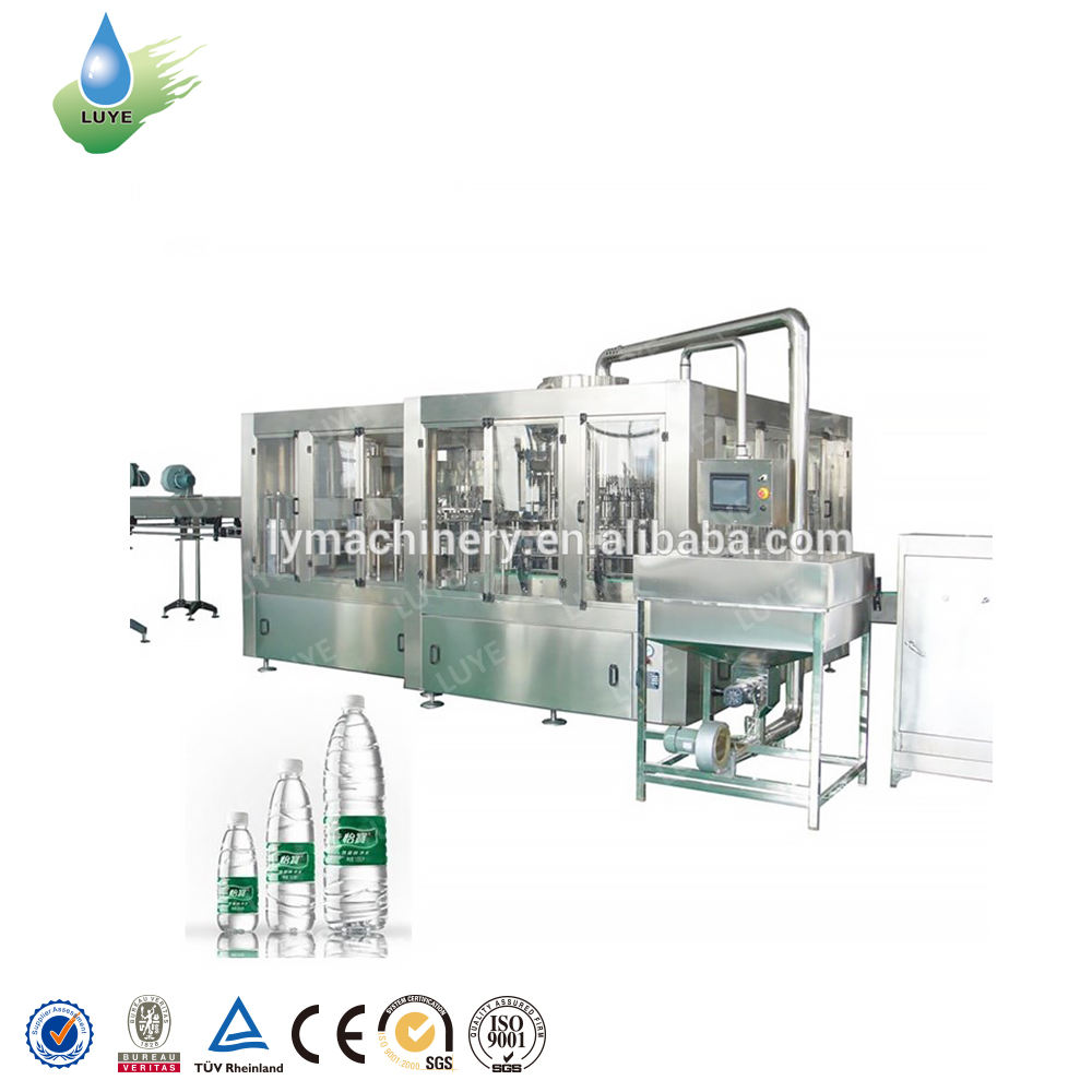 Factory Direct Sales automatitc mineral water filling packing machine automatic white spirit equipment bottle minecraft