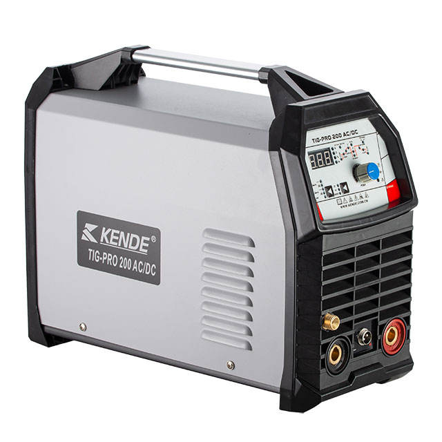 KENDE Multi Function Inverter IGBT Technology Aluminium Welding Machine Pulse WSME TIG PRO 200 AC DC