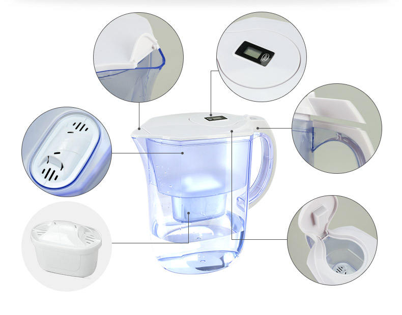 New design Hot Selling Cheap Water Filter Pitcher Cartridge 6 packs or 3packs