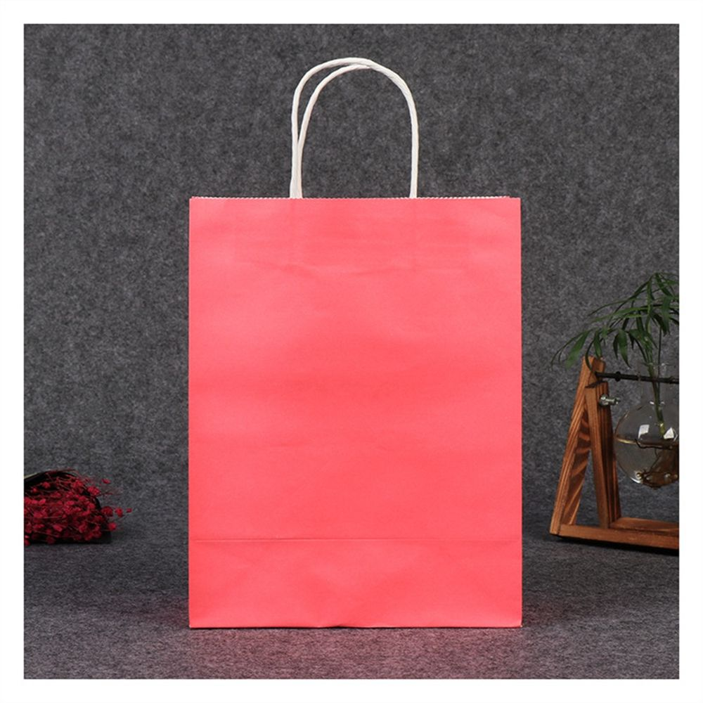 Portable Printing Reusable Retail Promotional Custom Net Nature Paper Tote Shopping Bag