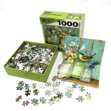 Factory custom children's IQ jigsaw puzzle toy