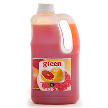 New product concentrated syrup large bottle red grapefruit juice flavoring beverage