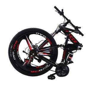 Folding Mountain Bike Concise Style Men Women Foldable X-Road Mountain Bicycle Student Teenager Utility Cycle