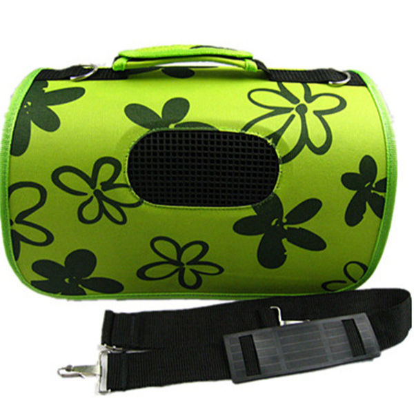 green PVC cheap dog carrier bags