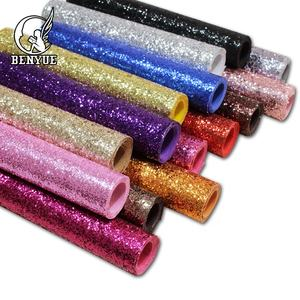 Hot Selling Entertainment usage Shiny Fabric 3d Glitter Wallpaper