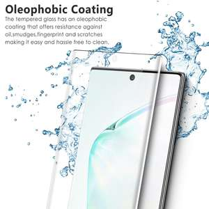Ultra-thin 3d tempered glass screen guard protector for Samsung Note 10 /10 Plus