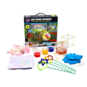 Educational toy game magical Bubble Making Show children science kit
