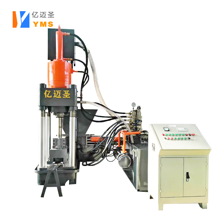 Y83-360L Cheaper automatic vertical metal chip briquetting machine