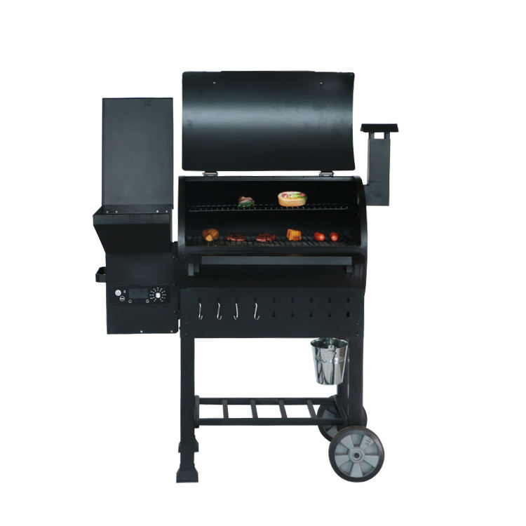 Outdoor Portable Pellet Wood Barbecue Smokeless BBQ Easily Cleaned Charcoal Grills