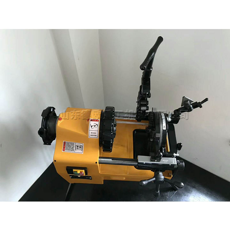 750W electric pipe threading machine Manufacturer of portable electric pipe threader