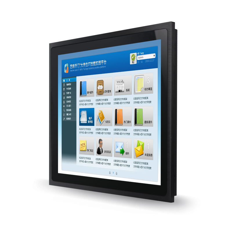 Lcd Monitor Outdoor Industriële Outdoor 12.1 Inch Aluminium Bezel IP66 Touch Monitor Touch Screen Draagbare Monitor
