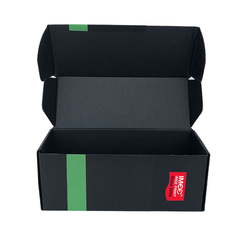 IMEE Custom Kraft Recycled Cardboard Corrugated Paper Gift Packaging Products for Shoes Display T-shirt Soap Packaging