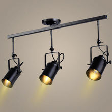 Modern LED Energy Saving Iron Black Chandelier Ceiling Light Contemporary for Bar