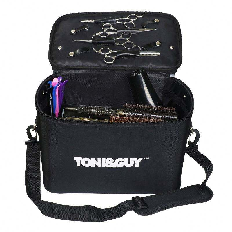 Big Capacity Make-up Designer Barber Haircut Tool Bag Case for Hairdresser Comb Scissor Hair Dryer