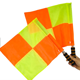 Soccer Flag Training Soccer Flags Referee Football Soccer Hockey Linesman Flag Athletic Competition Hand Flag Track And Field Sports Training Flag