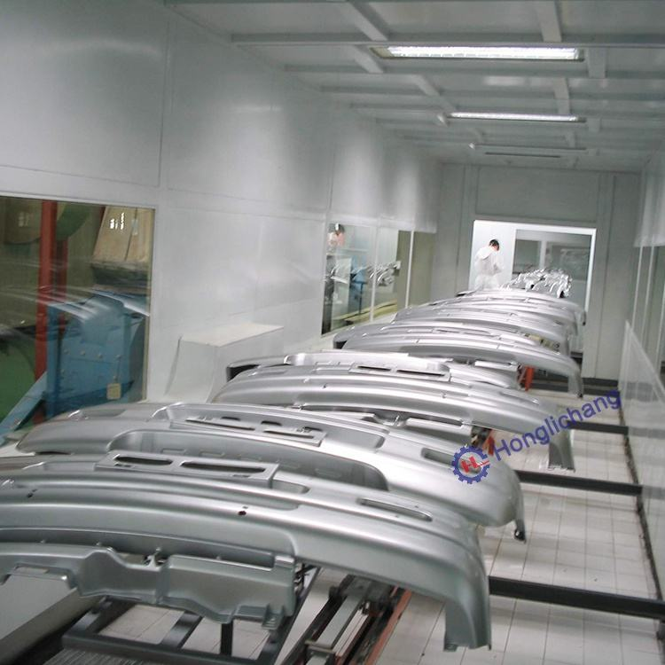 Turnkey Car Bumper Spray Coating Paint Shop