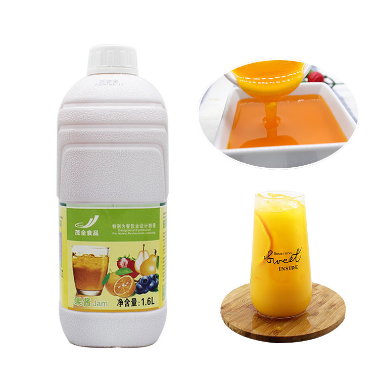 Factory Sell Directly Concentrate Syrup Fruit Drinks Orange Juice