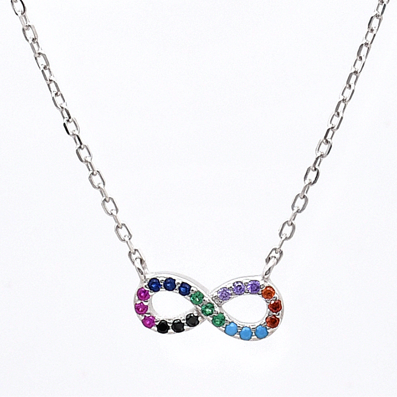 The infinite element sterling silver necklace jewelry manufacture wholesale dealer