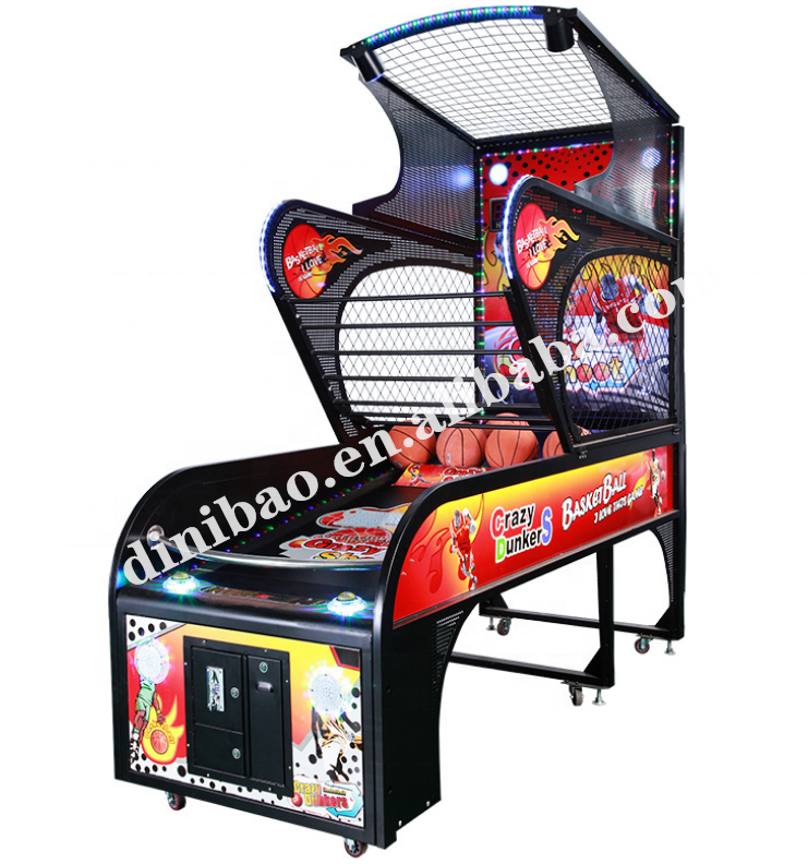 Dinibao Indoor Sport <span class=keywords><strong>Basketbal</strong></span> <span class=keywords><strong>Arcade</strong></span> <span class=keywords><strong>Game</strong></span> Muntautomaat <span class=keywords><strong>Machine</strong></span> Straat <span class=keywords><strong>Basketbal</strong></span> <span class=keywords><strong>Machine</strong></span>