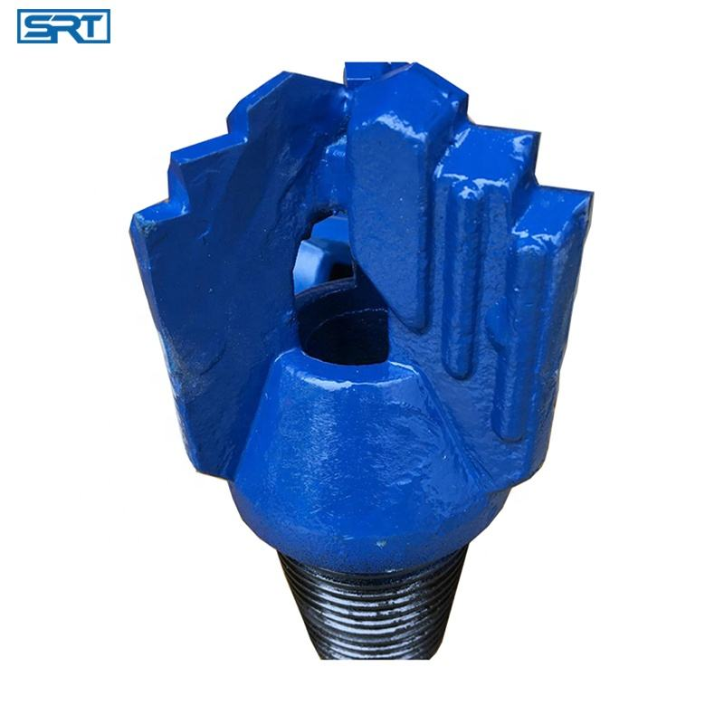 steel body PDC soft water drilling Drag Bits/Blade bits 6 inch