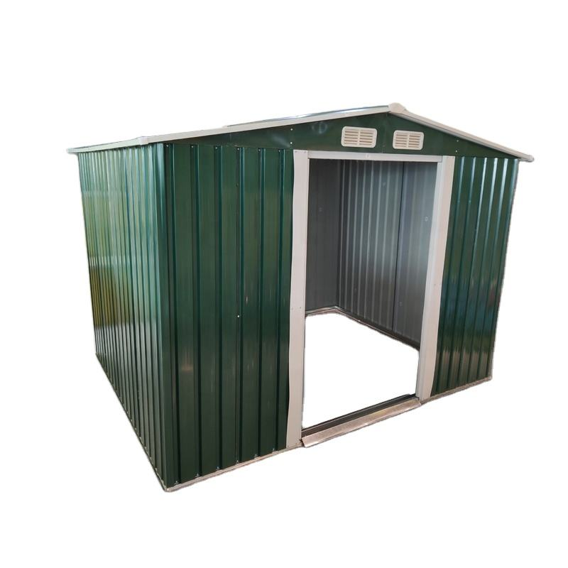 New Model Anti UV resin Plastic pvc 10 x 8 10x12 Garden Shed Custom Outdoor Storage Shed high quality metal sheds summer house