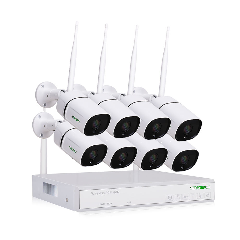 <span class=keywords><strong>CCTV</strong></span> Set 1080P Outdoor Wifi Sicherheit <span class=keywords><strong>Kamera</strong></span> 8CH Wireless NVR Kit HD <span class=keywords><strong>CCTV</strong></span> <span class=keywords><strong>Kamera</strong></span> System