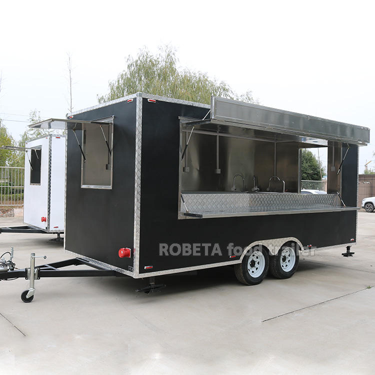 Used Food Trailers United States Standards Food Carts Mobile Trailers Electric
