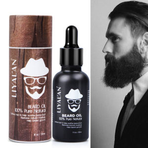Private Label Organic 100% Natural Growing Vegan Mens Growth Beard Oil