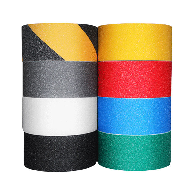 Waterproof Stair Carpet Printed Self Adhesive Salety Walk Non Slip Silicone Tape Anti Slip Tape Grip Tape For Stair