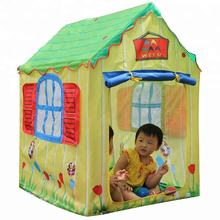 Hot sale cute kids play house tent for children toy, kids games and kids gift