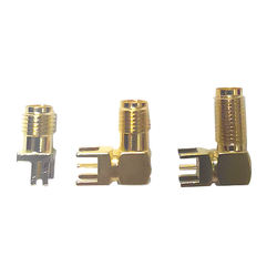 Antenna Parts SMAs Male Coaxial Right Angle PCB RF Cable Connector and SMAs connector