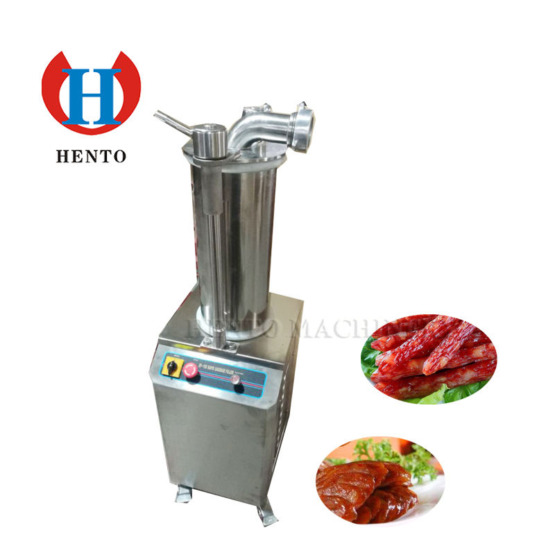 Stainless Steel Small Automatic Sausage stuffer / Small Sausage Filler Machine