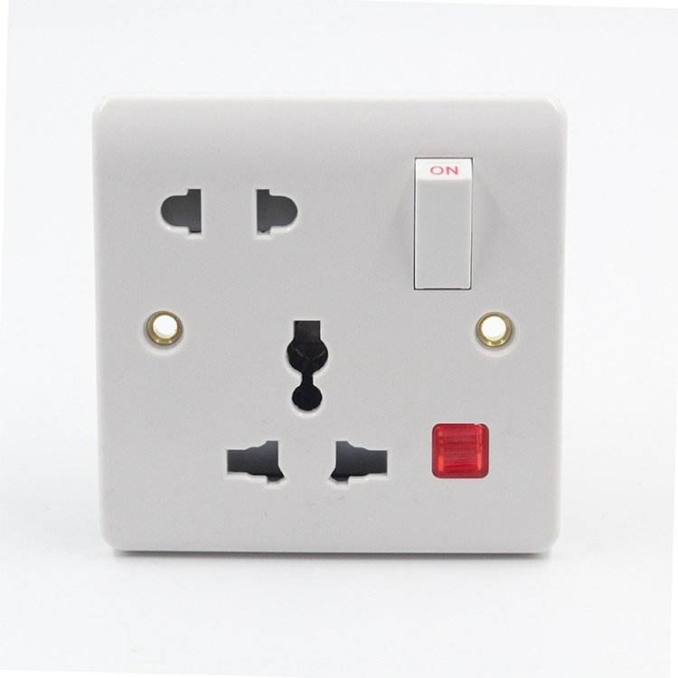 1 Gang 2 Way 220V-250V Muur Elektrische Schakelaar <span class=keywords><strong>Socket</strong></span> <span class=keywords><strong>Productie</strong></span> Machine