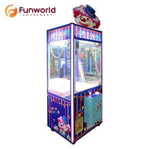 New Kids Playing Amusement Park Redemption Game Bear Toy Doll Crane Claw Machine