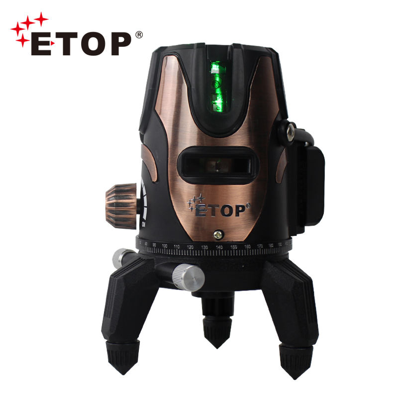 ETOP Factory Price Multifunctional rotary automatic 3D Green Laser Level 360 Green Beam Laser Level