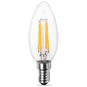 C35 C32 Umbi Lilin LED 2 W 4 W 6 W 360 Derajat LED Filament Candle Bulb Lampu LED E10 /E11/E12/E14/E17/B15