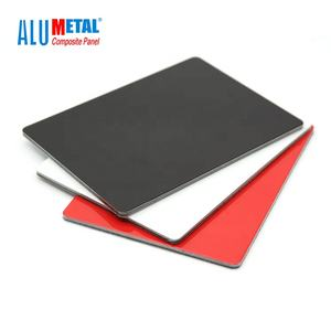 3mm 5mm black dibond plate sheet sizes for printing acp