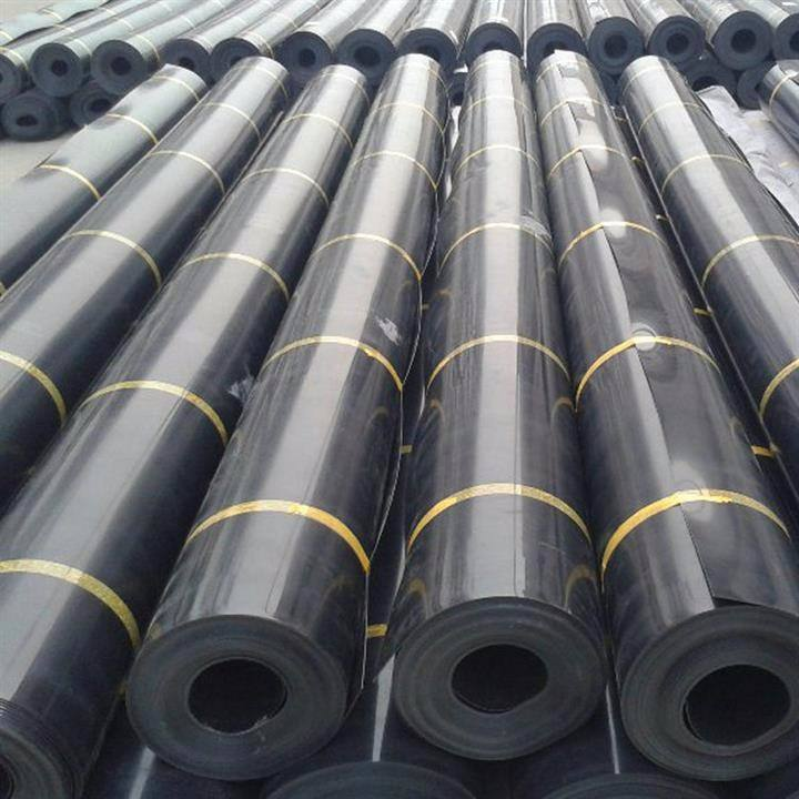 Pond Liners HDPE แผ่นเรียบ HDPE Geomembranes