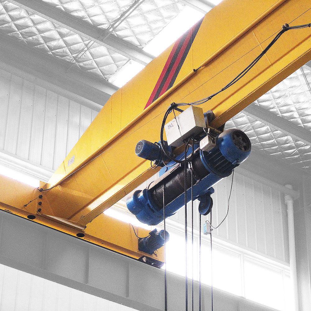 1 2 3 5 7.5 10 15 ton LDA type electric hoist single girder beam overhead travelling crane
